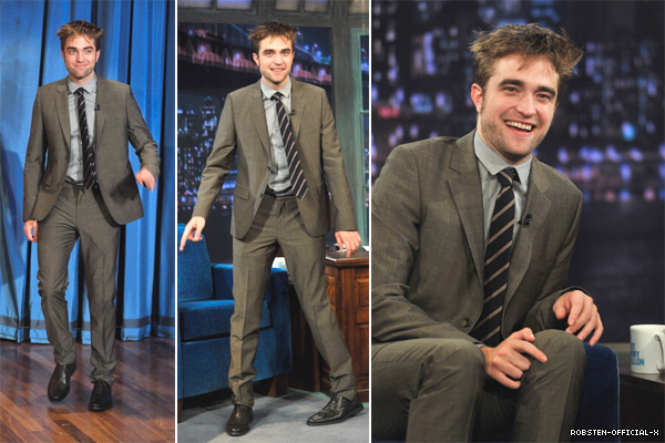 08/11: Robert était au Late Night with Jimmy Fallon: part1 / part2 / part3