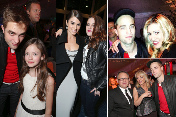 12/11: Photos de Robsten à l'after-party.