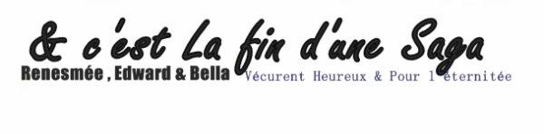 AVIS SUR LE DERNIER VOLET DE CETTE SAGA FABULEUSE TWILIGHT
