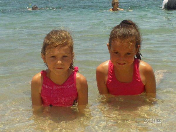 Mes princesses a la mer