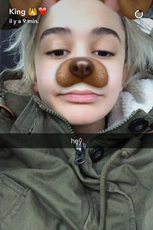 Via Snapchat