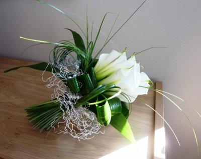 """Bouquet de mariée """"Simply white"""""""