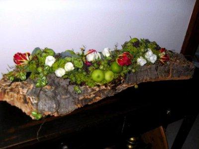 """Cours d'Art Floral """" Petit Poucet et Chaperon rouge"""" 17/09/2011"""