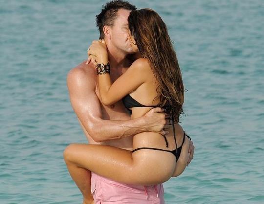 John Terry et sa femme