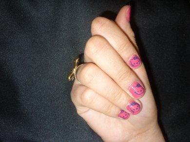 Stamping nail art 2