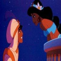 Aladdin et jasmine / «Ce rêve bleu, c'est un nouveau monde en couleurs. Où personne ne nous dit: c'est interdit de croire encore au bonheur » (2010)