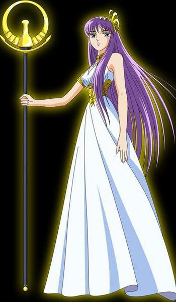 Presentation de Saori Kido dit Athena