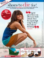 Magasine • Apparition de Kat dans le numéro avril 2011 de Dix-Sept