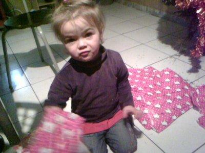 ma fille a noel!!!!