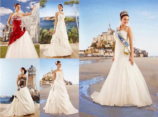 Miss France 2012 En Robe De Marier Les Miss France
