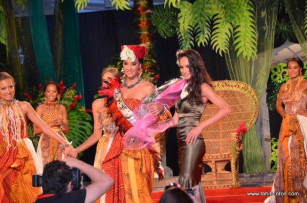 Miss Tahiti 2012.