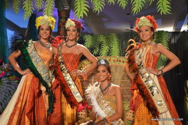 Election de Miss Tahiti 2012.