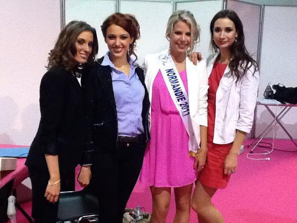 Election Miss Manche 2012.