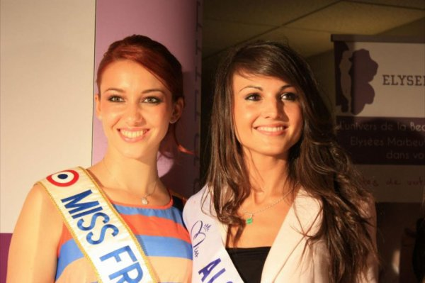 Delphine Wespiser Miss France 2012.