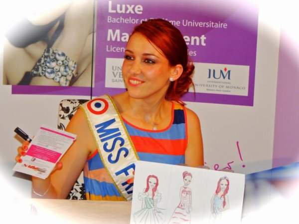 Delphine Wespiser Miss France 2012.