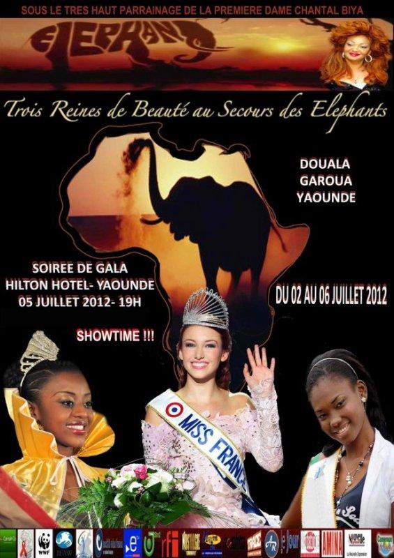 Miss France 2012 au Cameroun !