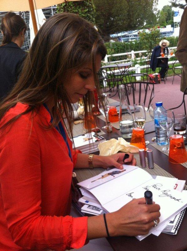 Laury Thilleman à L'open EDF