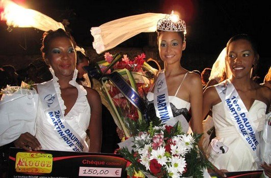 Miss Martinique 2012.