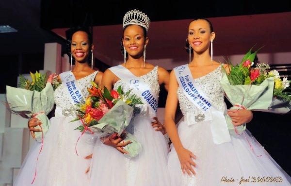 Miss Guadeloupe 2012.