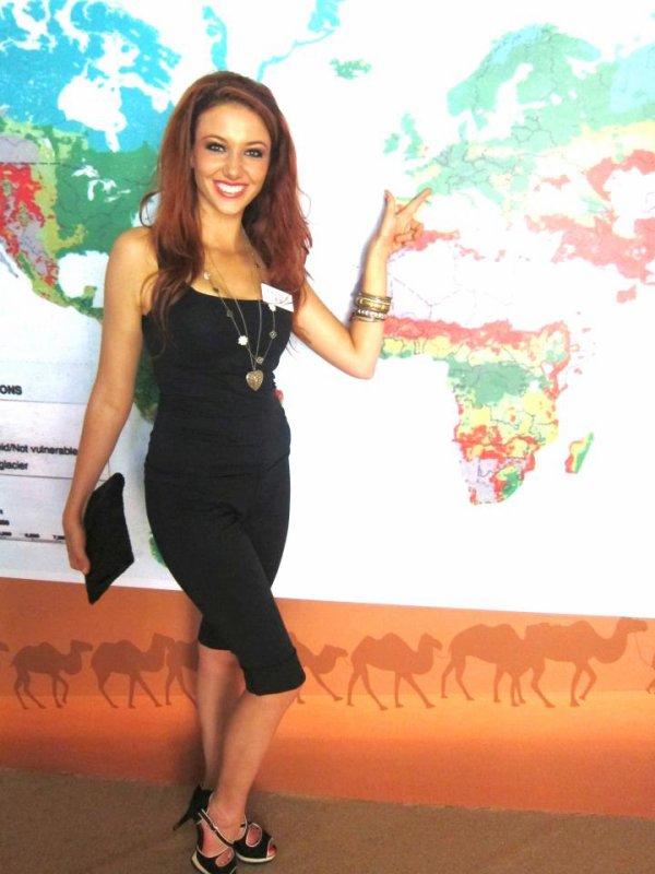 Miss World - Delphine.