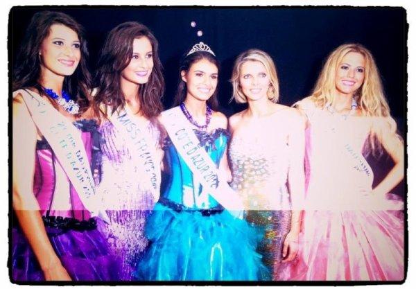 Miss Côte d'Azur 2012.