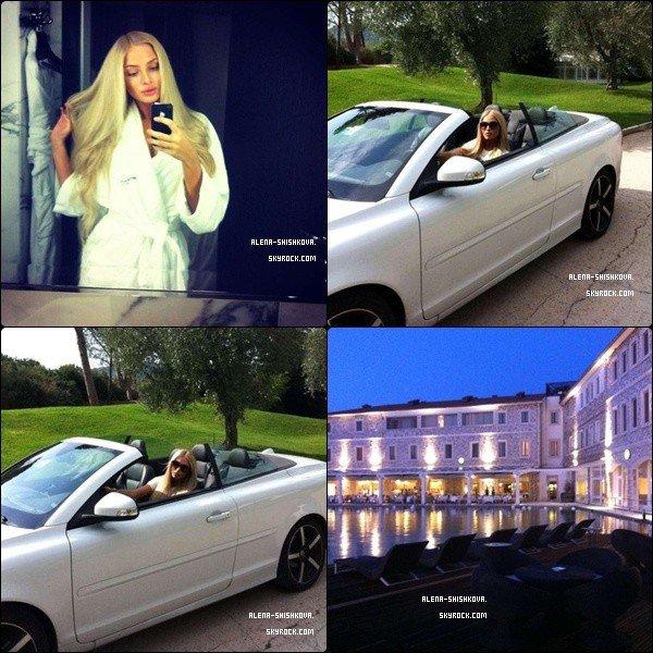 7/09/2012 au 17/09/2012 : Alena était en Italie, à Rome.