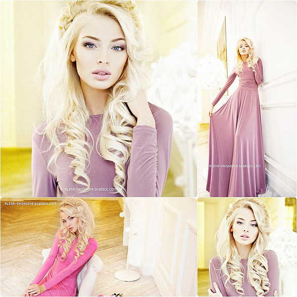 "01/05/13 : 1ères photos du photoshoot d'Alena pour ""Armani Dress""."