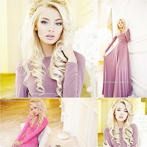 """01/05/13 : 1ères photos du photoshoot d'Alena pour """"Armani Dress""""."""