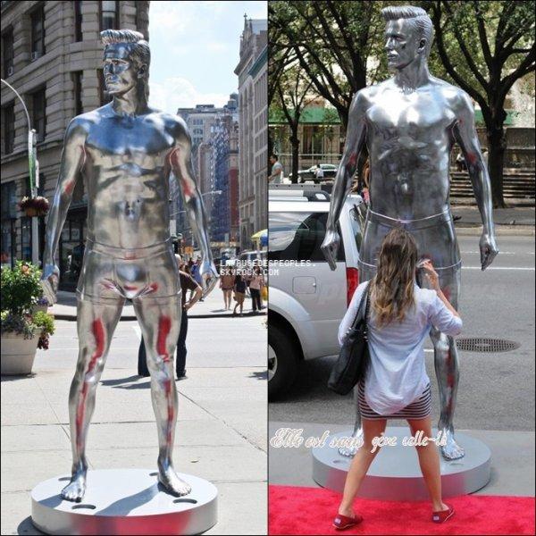 Lady Gaga dans un nouveau clip mode. Mirandra Kerr fait de la Pub. David Beckham immortalisé en sous-vêtements pour une statue