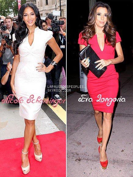 Deux stars, un look, tu décides qui porte le mieux cette robe à 64.71 $ ?