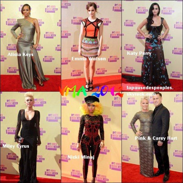 Voici quelques photos de stars aux VMA ce 6 septembre !