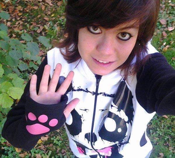 Moi , le p'tit lOoup au pull panda killer :3 Héhé