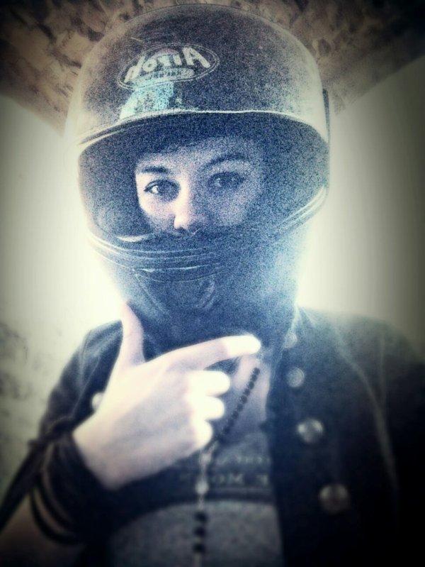 Petit tour à moto avec les potos ^_^