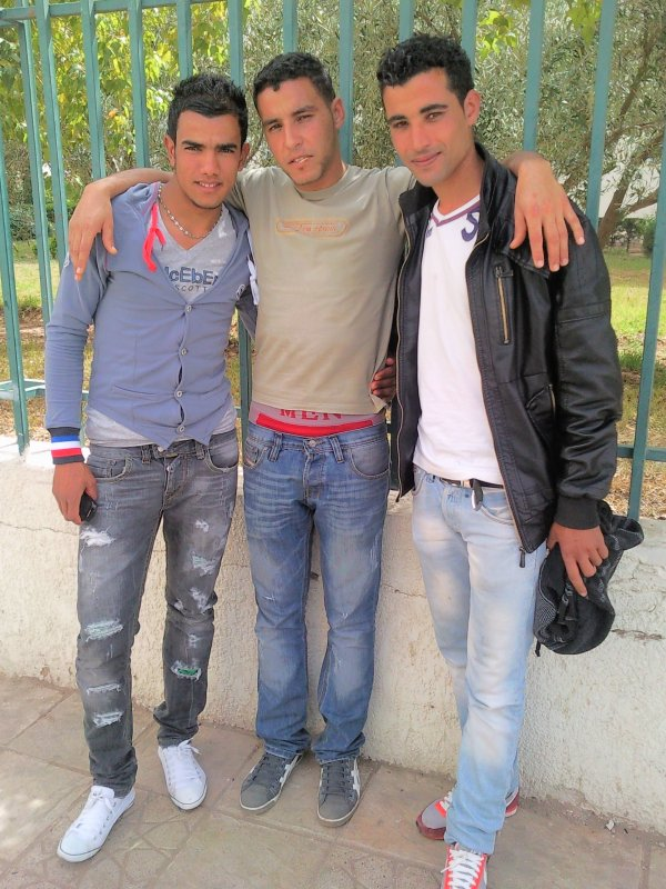 fouad et moi et khlid