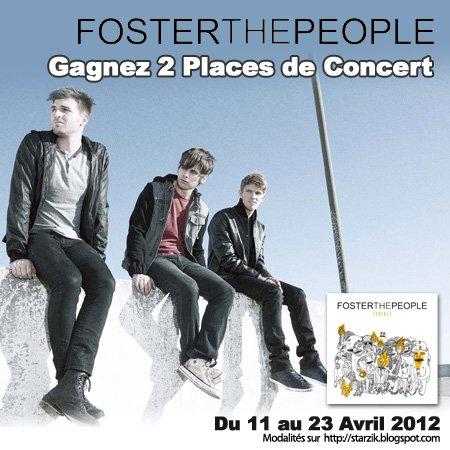 Gagnez 2 Places de Concert pour Foster The People !