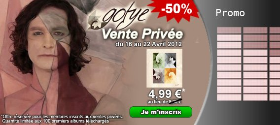 Vente Privée Making Mirros, L'album de Gotye à 4.99¤ au lieu de 9.99¤ !