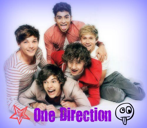 One Direction(Harry, Niall, Liam, Zayn, Louis)