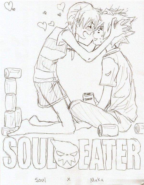 Soul et maka