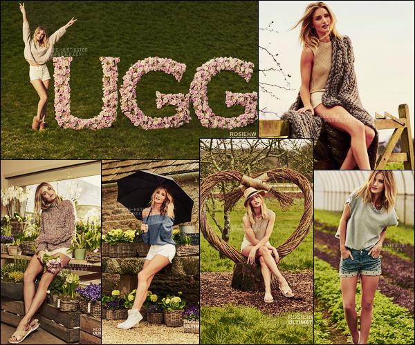 CAMPAGNE •• Rosie Huntington pour UGG dont elle est la nouvelle ambassadrice !
