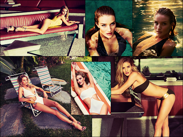 SHOOT  •• Rosie Huntington pour le magazine Esquire UK, issue d'Avril 2015 .