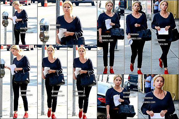 05 mars 2014 - Ashley en business woman, a été aperçue en route pour une réunion d'affaires à Hollywood, LA.