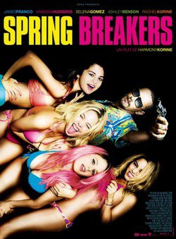 ARTICLE FILMS D'ASHLEY BENSON ---------- « Spring Breakers » ou Ashley joue le rôle de Brit.