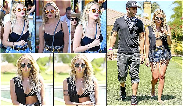 17 Avril - Comme tous les ans, Ash est au festival Coachella. Elle a posé pour le magasin Perverse Sunglasses.