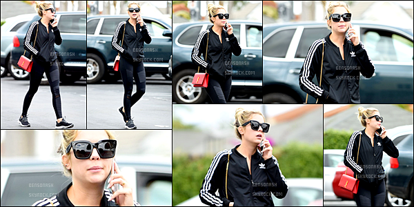 06 Mai - Après un moment sans sorties, Ashley repointe le bout de sont nez se promenant dans Los Angeles.