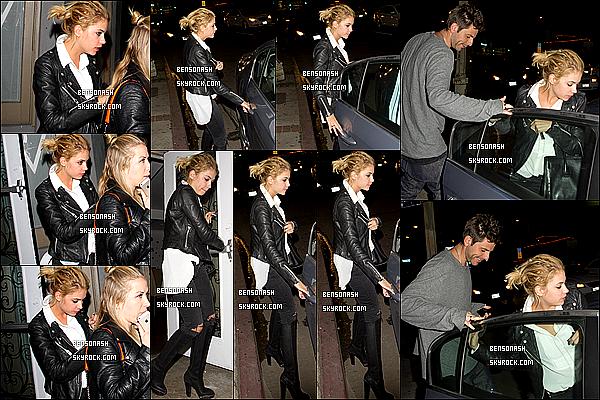 07 mars 2014 - Ashley Benzo était présente à la fête de pré-mariage de Laura Vandervoort à West Hollywood.