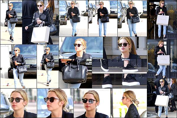 20 Mars - La belle Ashley a été aperçue faisant du shopping dans Los Angeles. Que pensez vous de sa tenue?