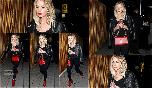 27 Février - Notre Ashley a été vue quittant le Nice Guy dans West Hollywood, en compagnie d'Hailey Baldwin.