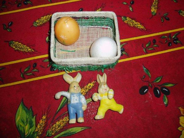 Echange de Pâques reçu :1