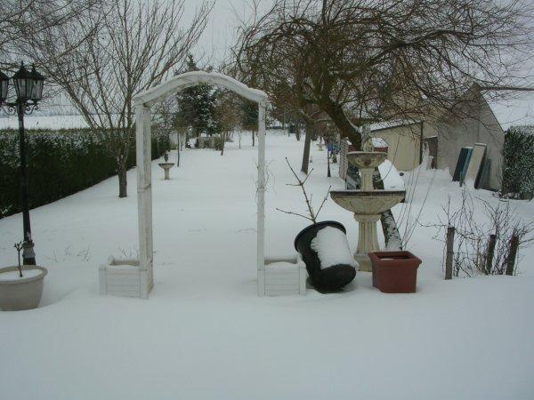 Tombe la neige..........
