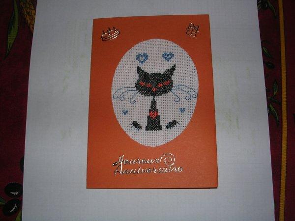 Ronde des cartes d'anniversaire
